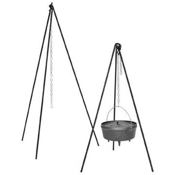 Lodge Camp Dutch Oven Tall Boy Tripod