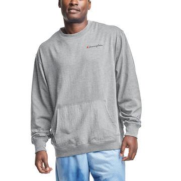 Champion Mens Middleweight Hybrid Crew Sweatshirt