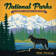 National Parks Classic Posters 2021 Wall Calendar by Anderson Design Group