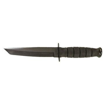 KA-BAR Kraton G Handle Short Tanto Fighting / Utility Fixed Blade Knife
