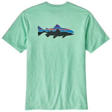 Patagonia Mens Fitz Roy Trout Responsibili-Tee Short-Sleeve T-Shirt