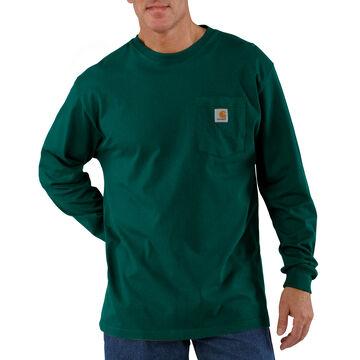 Carhartt Mens Workwear Long-Sleeve Pocket T-Shirt