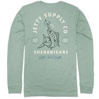 Jetty Life Men's Beer Spear UV Long-Sleeve Shirt