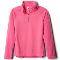 Columbia Girl's Glacial II Fleece Print Half-Zip Pullover