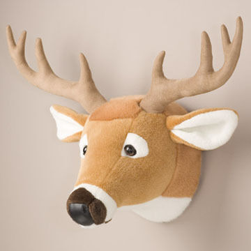 Stuffed Animal House White-Tailed Deer Large Walltoy