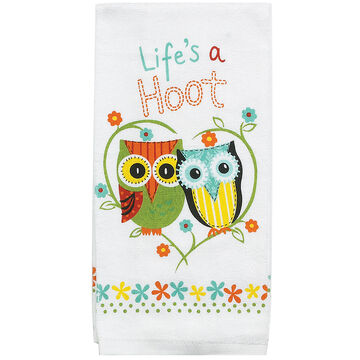Kay Dee Designs Lifes A Hoot Terry Kitchen Towel