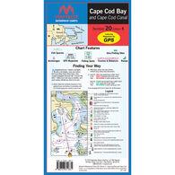 Maptech Folding Waterproof Chart - Cape Cod Bay