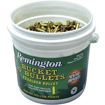 Remington Bucket O Bullets 22LR 36 Grain HP Rifle Ammo (1400)