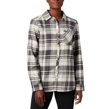 Columbia Womens Simply Put II Flannel Long-Sleeve Shirt