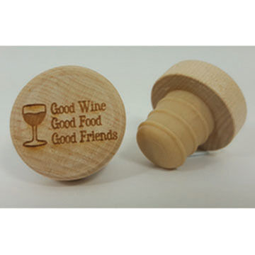 KitchenHappy WineO Good Food Wine Stopper
