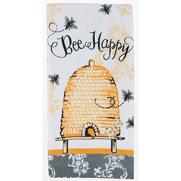 Kay Dee Designs Queen Bee Terry Kitchen Towel