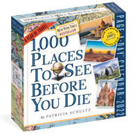 1,000 Places to See Before You Die 2022 Page-A-Day Calendar by Patricia Schultz