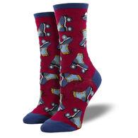 Socksmith Design Women's Free Skate Crew Sock