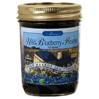 Bar Harbor Jam Company No Sugar Added Blueberry Preserves, 8 oz.