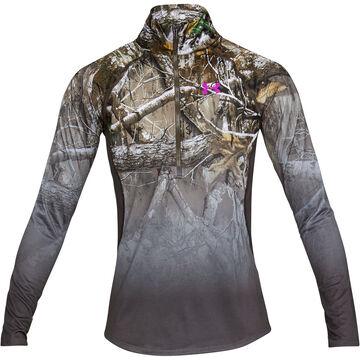 Under Armour Womens UA Tech Faded 1/4-Zip Long-Sleeve Shirt