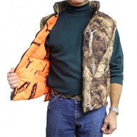Gamehide Men's Deer Camp Reversible Vest