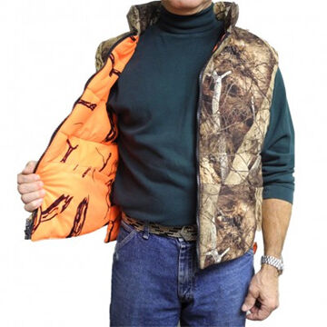 Gamehide Mens Deer Camp Reversible Vest