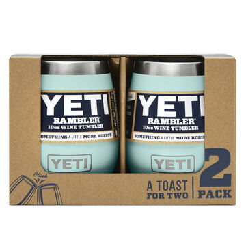 YETI Rambler 10 oz. Stainless Steel Vacuum Insulated Wine Tumbler - 2 Pk.