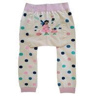 Huggalugs Infant/Toddler Girl's Fairy Knit Pant