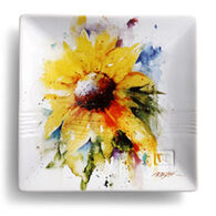 Big Sky Carvers Sunflower Snack Plate