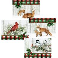 LPG Greetings Woodland Lodge w/Keepsake Box Christmas Cards