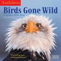 Audubon Birds Gone Wild 2018 Wall Calendar by Workman Publishing