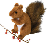Douglas Company Plush Red Squirrel - Roadie