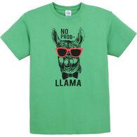 Pacific Art Men's No Prob Llama Short-Sleeve T-Shirt