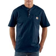 Carhartt Men's Big & Tall Workwear Short-Sleeve Henley Shirt
