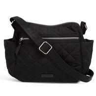 Vera Bradley Women's On the Go Crossbody Quilted Polyester Handbag