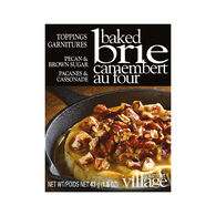Gourmet Du Village Brie Topping - Pecan & Brown Sugar