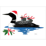 Allport Editions Loon with Babies Boxed Holiday Cards