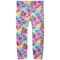 MeMoi Girls' Spring Fever Flower Legging