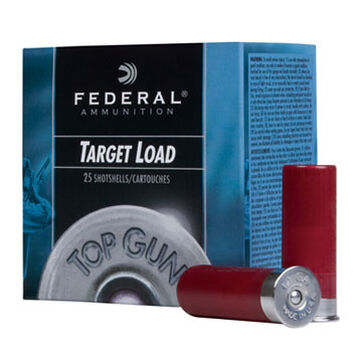 "Federal Top Gun Target 12 GA 2-3/4"" 1-1/8 oz. #7.5 1145 FPS Shotshell Ammo (250)"