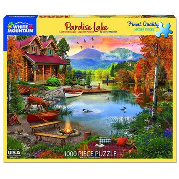 White Mountain Jigsaw Puzzle - Paradise Lake