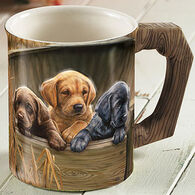 Wild Wings All Hands On Deck Lab Pups Mug