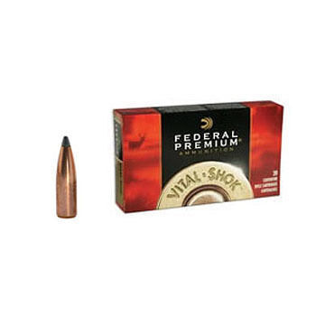 Federal Premium Vital-Shok 243 Winchester (6.16x51mm) 100 Grain Nosler Partition Rifle Ammo (20)