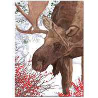 Allport Editions Moose with Berries Boxed Holiday Cards