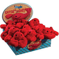 Grriggles Catch Of Day Lobster Dog Toy