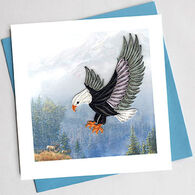 Quilling Card Eagle Everyday Card