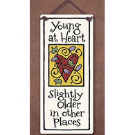 "Spooner Creek ""Young At Heart"" Small Tall Tile"
