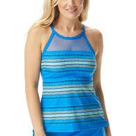Beach House - Swimwear Anywear Women's Exhilarate Drift Away Racerback Tankini Top Swimsuit
