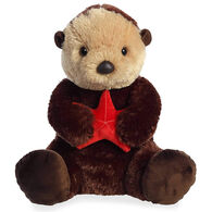 "Aurora Sea Otter 14"" Plush Stuffed Animal"