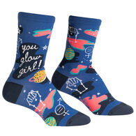 Sock It To Me Women's You Glow Girl Crew Sock