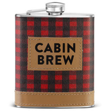 Big Sky Carvers Cabin Brew Flask