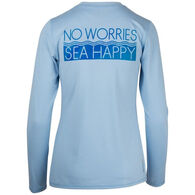 Salt Life Women's No Worries Long-Sleeve T-Shirt