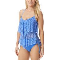 Beach House - Swimwear Anywear Women's Portia Mesh Layer Ahoy There Tankini Top Swimsuit