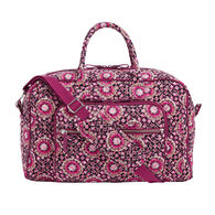 Vera Bradley Signature Cotton Compact Weekender 20 Liter Travel Bag