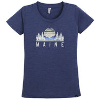 Techstyles Women's Maine Etiquette Short-Sleeve T-Shirt