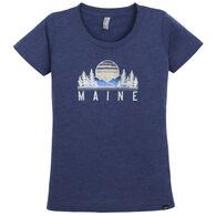Techstyles Women's Maine Etiquette Short-Sleeve T-Shirt